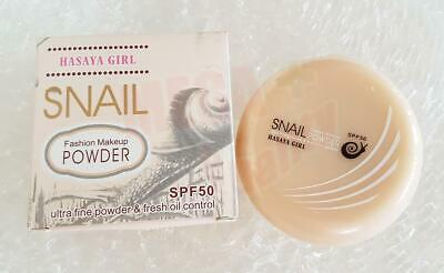 HASAYA GIRL Snail Fasion Makeup POWDER SPF50 Oil Control 14g #No.02 Medium Skin
