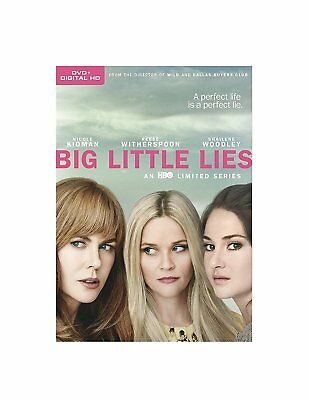Big Little Lies Season 1 New & Sealed Region 2 DVD Boxset