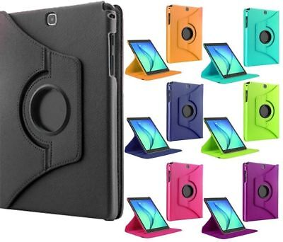 """360 Rotation Leather Case Stand Cover For Samsung Galaxy Tab A 9.7"""" A6 7"""" 10.1"""""""