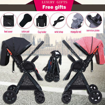 New Baby Stroller Pram Coballe Compact Lightweight Jogger Carry-on Foldable