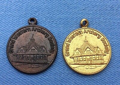 Vintage Grand Western Archery Society Medals