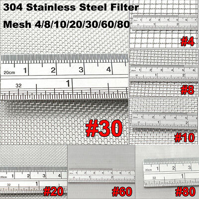 Stainless Steel Woven Wire Mesh Filter Filtration Wire Cloth Screen Grill Sheet