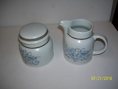 Royal Doulton Inspiration LS 1016 Sugar & Creamer  EC