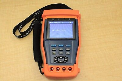 """Evertech CCTV Tester PRO 3.5"""" LCD Multi-Function Video, PTZ, Security Cam & More"""