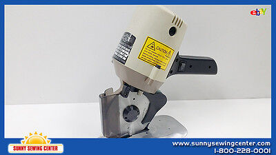 "Round Knife Cutting Machine Made in Taiwan, 4"" Blade, 110 Volts SU LEE RC-280"