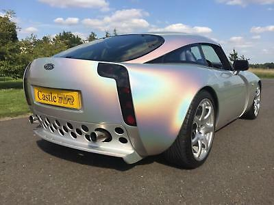 2003 TVR T350c 3.6 5-speed manual, in Spectraflair Silver with Leather interior