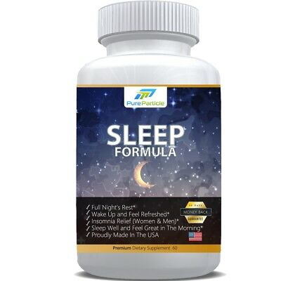 Sleep Formula by Pure Particle | All Natural Full Night´s Rest Premium Sleep Aid
