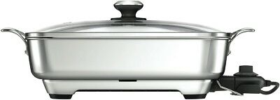 NEW Breville BEF560BSS The Thermal Pro Stainless Frypan