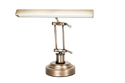 "14"" Led Piano Desk Lamp - Antique Brass"