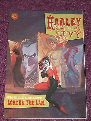 Harley & Ivy - Love on the Lam TPB (2001 DC)