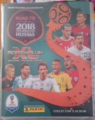 Panini.Road to 2018 FIFA World Cup Russia Adrenalyn XL - PICK 10 CARDS FROM LIST