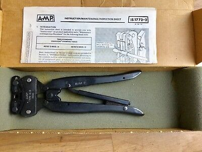 Amp 45707-2 COAXICON DAHT  tool. Unused NOS. £5394 @ Mouser £5320 @ Digi-Key !