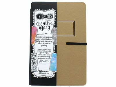 """Ranger """"Dylusions Dyary"""" Creative Planner Diary, Brown"""