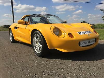1998 Lotus Elise S1 1.8, finished in Norfolk Yellow with leather interior