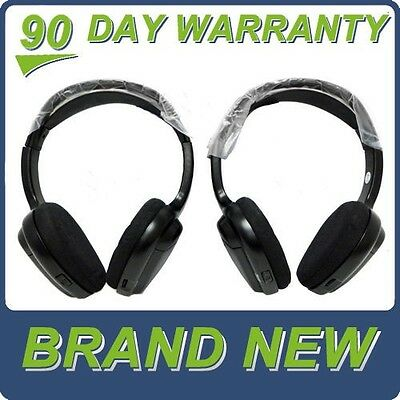 NEW HONDA ACURA Wireless Headphones headset DVD overhead 05 06 07 08 09 10 OEM