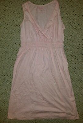 Motherhood Maternity Sleepwear Nursing nightgown pink gown size Small S