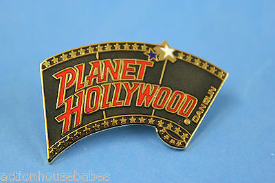 Planet Hollywood Cancun Collectable Label/hat/souvenir Pin - Film Roll/movies