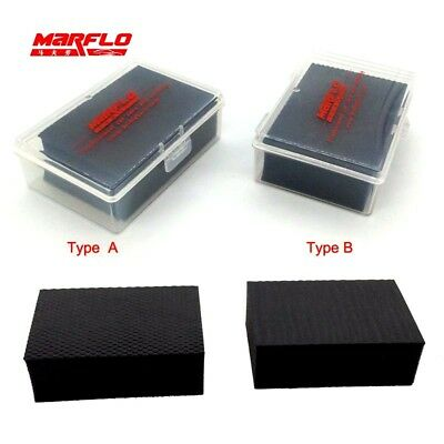 1 Pc Magic Clay Sponge Block BT-6011 Big Size Bar Auto Detailing Car Wash Wax