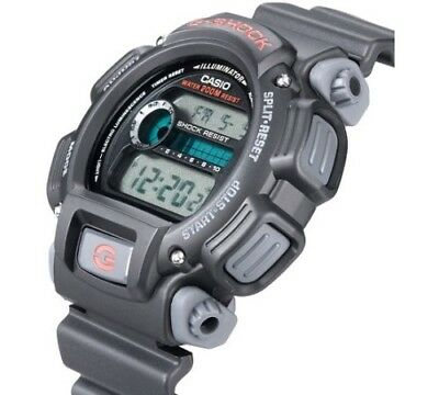 Casio Men's G-Shock Watch With Afterglow Backlighting, Black Resin Strap