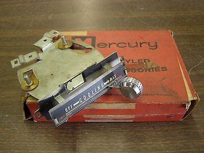 NOS OEM Ford 1957 Mercury Dash AC Control Assembly Monterey Montclair Turnpike