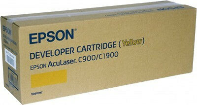 NEW Epson AL-C900/1900 Developer Cartridge Yellow 4.5k Free Shipping