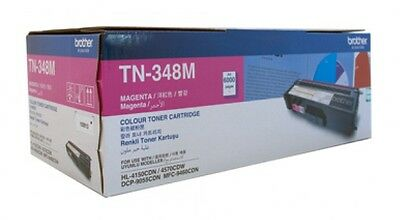 NEW Brother TN-348M Laser toner 6000pages Magenta laser toner & cartridge Free S