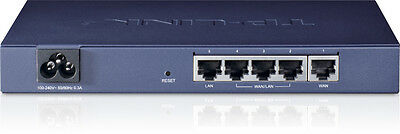 NEW TP-LINK TL-R470T+ Ethernet LAN Blue wired router Free Shipping