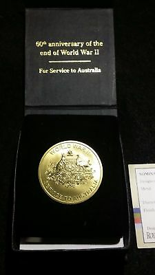 WW-II 60TH Anniversary Of The End - Veterans Affairs Medal