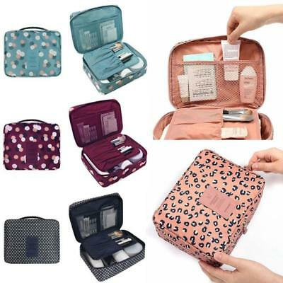 Makeup Travel Cosmetic Bag Case Multifunction Pouch Toiletry Wash Organizer Q