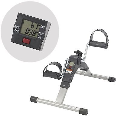 Foldable Pedal Excercicer With Digital Display Of - Time, Rev, Rpm, Cal-Burned