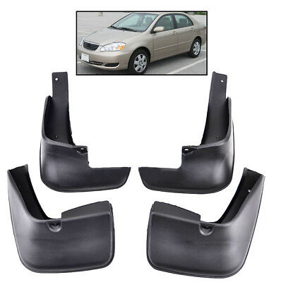 Mud Flap Flaps Splash Guard Mudguard Fit For 2002~2005 Toyota Corolla Front Rear