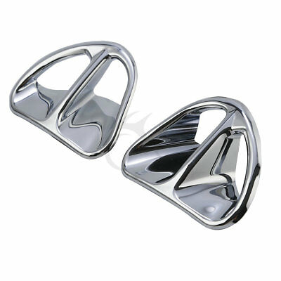 Fairing Air Intake Accents Grilles Chrome For Honda Goldwing GL1800 2001-2010