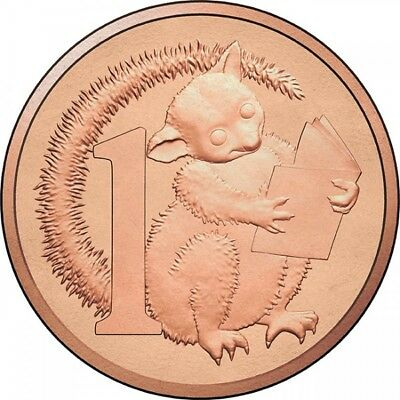 Australian One Cent 1c - 2017 - POSSUM MAGIC Coin - Little Hush - RAM Mint