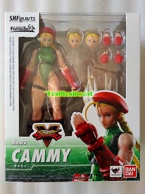 Bandai S.H.figuarts Street Fighter V ( CAMMY ) Action Figure [ In Stock ] SHF