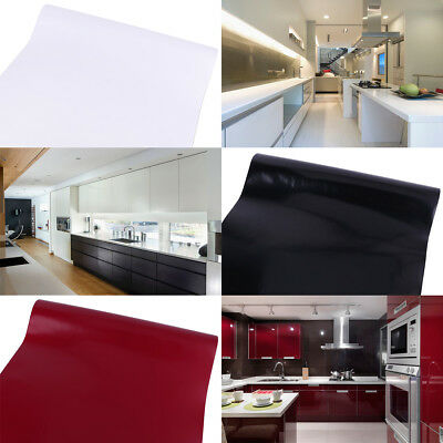 Vinyl Kitchen Water Oil Protect Self Adhesive Contact Paper Peel-Stick Wallpaper