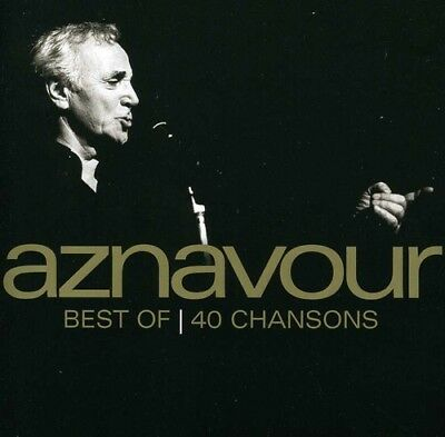 Charles Aznavour - Best of 40 Chansons [New CD] Canada - Import