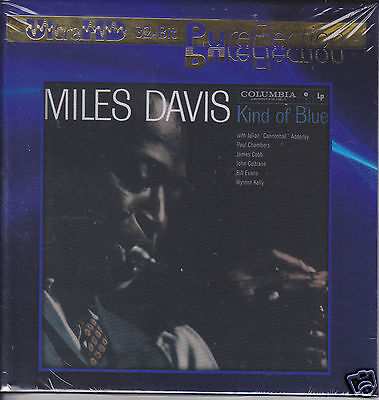 """""""Miles Davis Kind of Blue"""" Limited Numbered UltraHD UHD CD Audiophile New Sealed"""