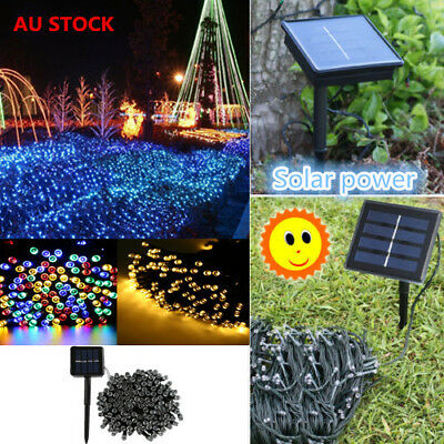 20-500 LED Solar/Battery Power Fairy Lights String Outdoor Xmas Party Waterproof
