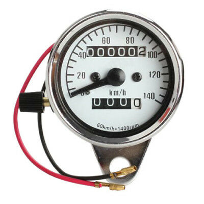 Motorcycle Mini Electronic Speedometer with Odometer Night Light R6O6