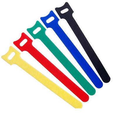 10pcs 15cm/20cm Length Hook and Loop Reusable Strap Cable Cord Wire Ties