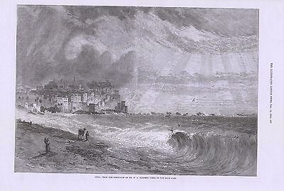 1872 Joppa Art By H A Harper From Exhibition Of Views Of The Holy Land
