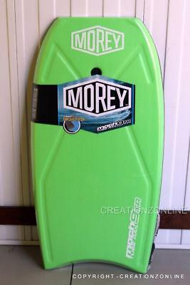 "2017 GREEN Morey Boogie Board Mach 9TR 108 cm -42.5""Tube Rail System Bodyboards"
