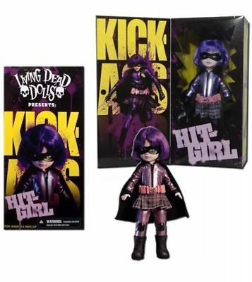 Living Dead Dolls Kick Ass Hit-Girl 10-Inch Doll Mezco Toyz - NO IMPORT CHARGES