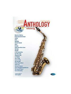 Anthology Alto Sax & Eb Instrum., Volume 4 Learn to Play MUSIC BOOK & CD