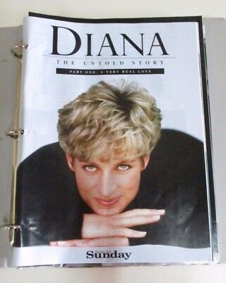 'Diana: The Untold Story' - Set of 12 Magazines - Sunday Herald Sun - Australia