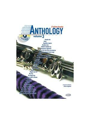 Anthology Clarinet & Bb Instruments, Volume 3 Learn to Play MUSIC BOOK & CD
