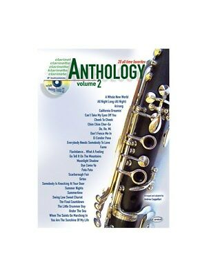 28 All Time Faves Vol 2 Clt Bk Cd Learn to Play MUSIC BOOK & CD Clarinet