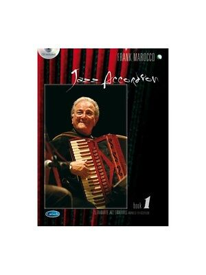 Frank Marocco Jazz Accordeon Volume 1 Learn to Play MUSIC BOOK & CD Accordion