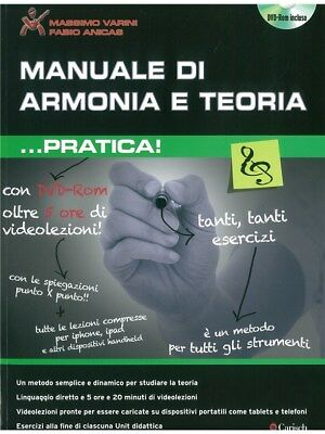 Manuale di Armonia e Teoria ...Pratica Play MUSIC BOOK & DVD All Instruments