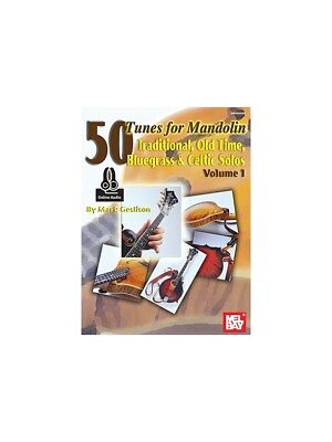 Mark Geslison 50 Tunes For Mandolin Volume 1 Online Audio MUSIC BOOK/AUDIO
